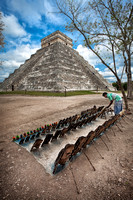 Chichen Itza Vendor by Christian Del Rosario
