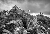 Moors Castle in Sintra, Portugal by Christian Del Rosario