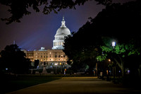 US Capitol at Night by Christian Del Rosario