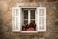 Dubrovnik Window by Christian Del Rosario