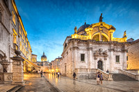 Church of Saint Blasius in Dubrovnik Croatia by Christian Del Ro