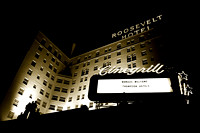 historic roosevelt hotel, hollywood ca