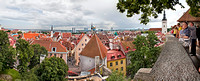 rooftops or tallin, estonia