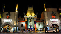 the chinese theater, hollywood, ca