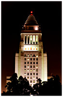 city hall tower, los angeles