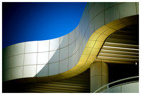 ribbon roof, the getty