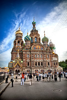 church of the spilled blood of christ - st. petersburg, russia